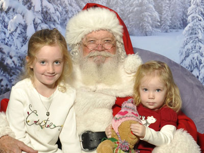 picture Dady and Eloise with Santa